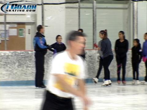 Figure Skating Jumps: On-Ice Air Turns