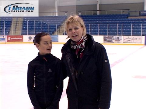 double axel lesson, how to do a double axel