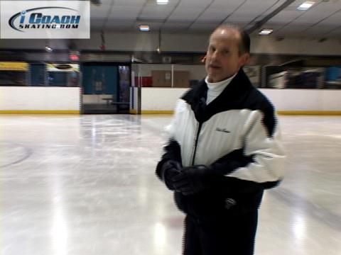 Nick Perna shares great drill to master figure skating turns.